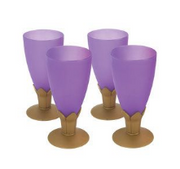 Aladdin purple goblets party
