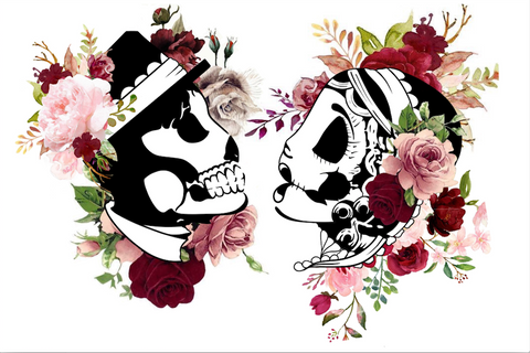 Till death do us part wedding backdrop