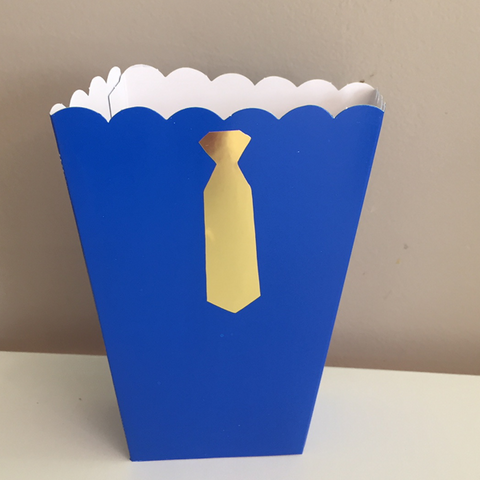 Mr Onederful popcorn box