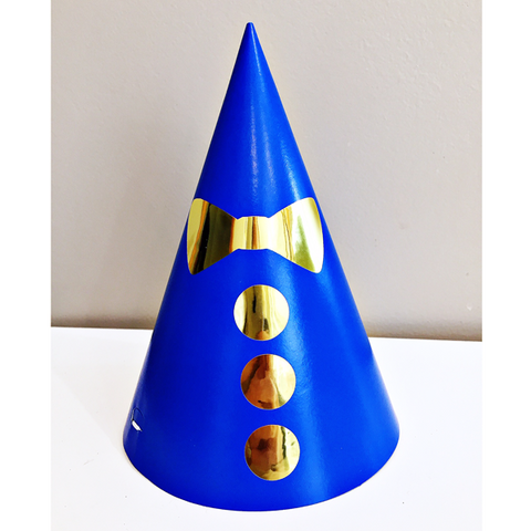 Mr Onederful party hats