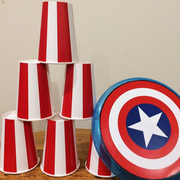 Superhero Captain America party game