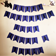How to train your dragon party custom made bunting