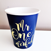 Mr Onederful cups