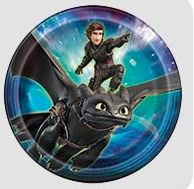 How to train your dragon party tableware