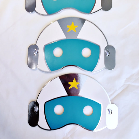 Space party masks
