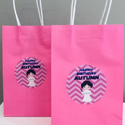 Princess Leia personalised party bags