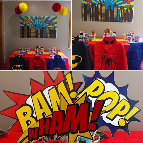 Superhero party box
