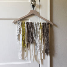Load image into Gallery viewer, Multicolor Yarn Ribbon Wall Hanging: Unfettered Chaos