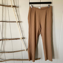 Load image into Gallery viewer, Brown High Waisted Rayon Lounge Pants