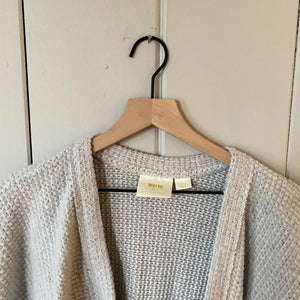 Anthropologie Maeve Gray Shawl Cardigan