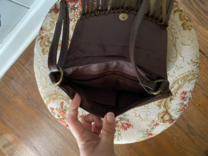 Brown Fringe Crossbody Bag