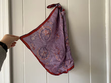 Load image into Gallery viewer, Purple Paisley Hair Scarf