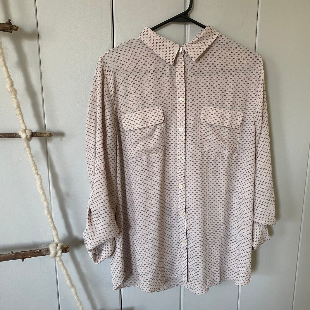 Loft Button Down Dress Shirt