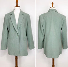 Load image into Gallery viewer, Sage Green Blazer Jacket