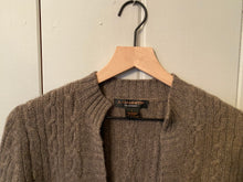 Load image into Gallery viewer, Cashmere Brown One Button Cardigan