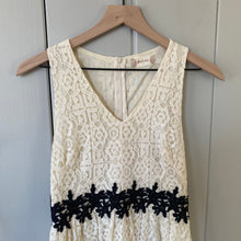 Load image into Gallery viewer, Altar'd State Ivory Lace V Neck Dress