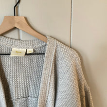 Load image into Gallery viewer, Anthropologie Maeve Gray Shawl Cardigan