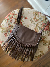 Load image into Gallery viewer, Brown Fringe Crossbody Bag