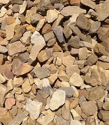 8 Ton Gravel Stone 19MM (Brown)
