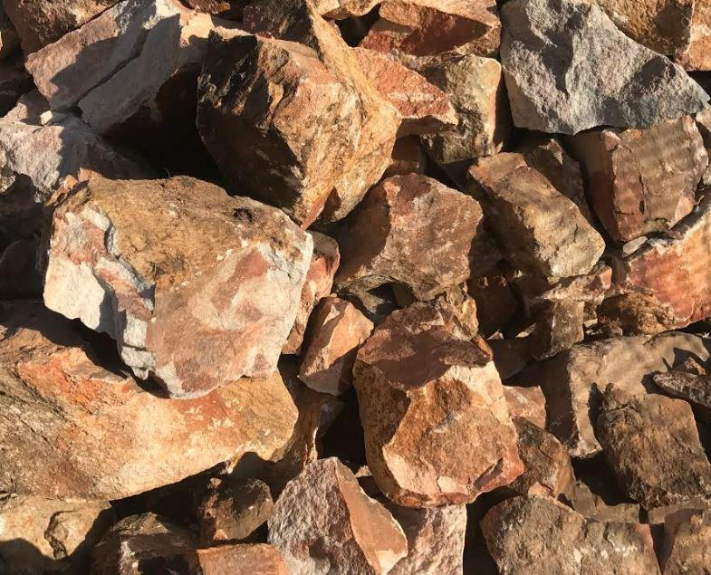 16 Ton Rustic Gabion Rocks  70MM -300MM