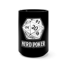 Load image into Gallery viewer, Nerd Poker d20 Mug
