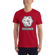 Load image into Gallery viewer, Nerd Poker d20 Unisex T-Shirt