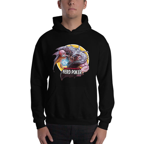 Nerd Poker Hooded Pullover Sweatshirt