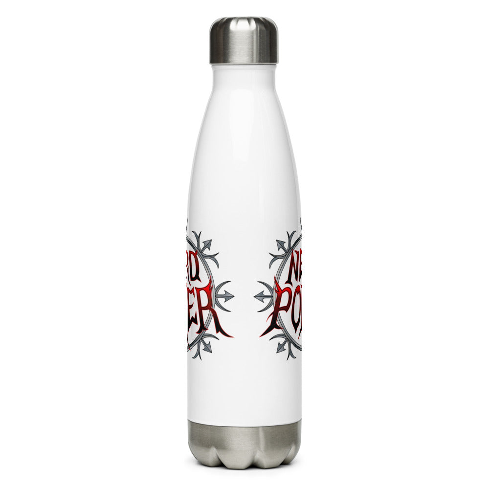 Nerd Poker Stainless Steel Water Bottle