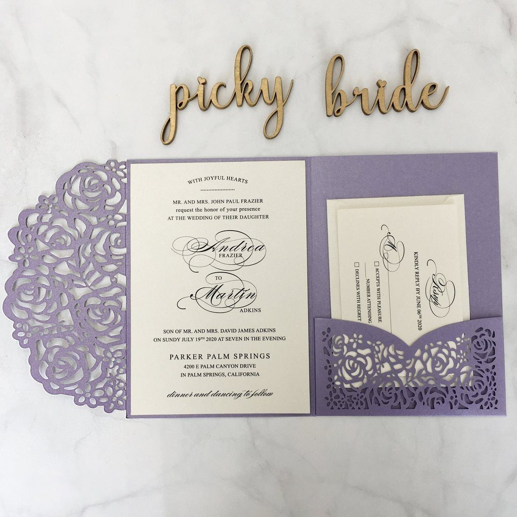 Deciding the Date for The Perfect Laser Cut Wedding Invitations