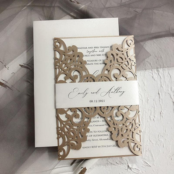 laser-cut-wedding-invitations-champagne-lace-invitation-cards