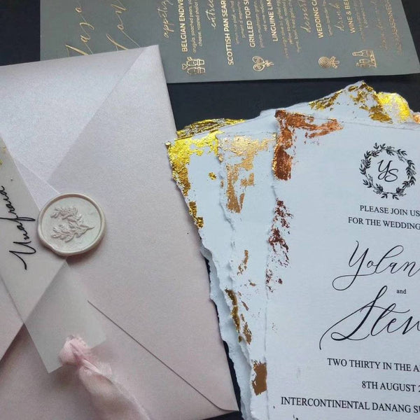 gold-stamped-wedding-invitations-cards