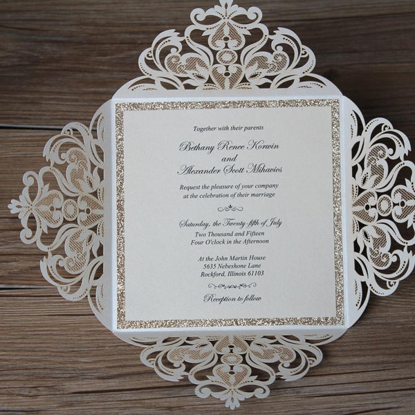 laser-cut-wedding-invitations-gold-glitter-invitation-cards