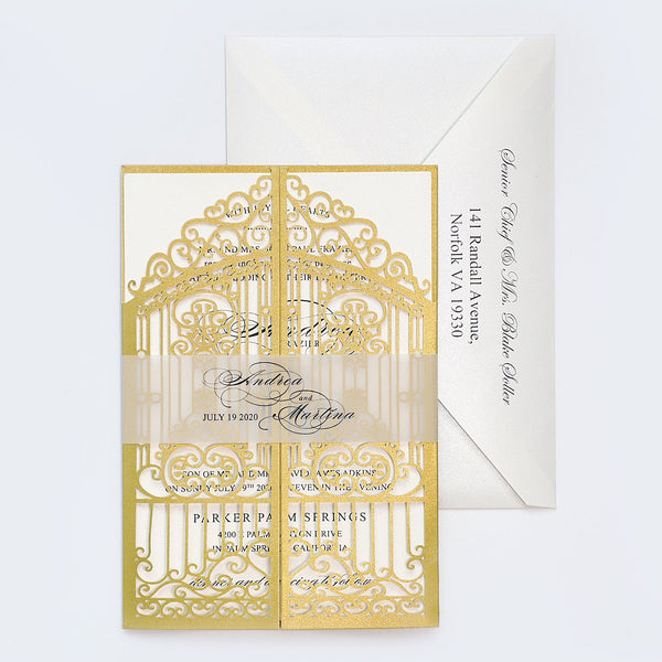 Golden Gate Wedding Invitation Personalized Invite Cards Picky Bride