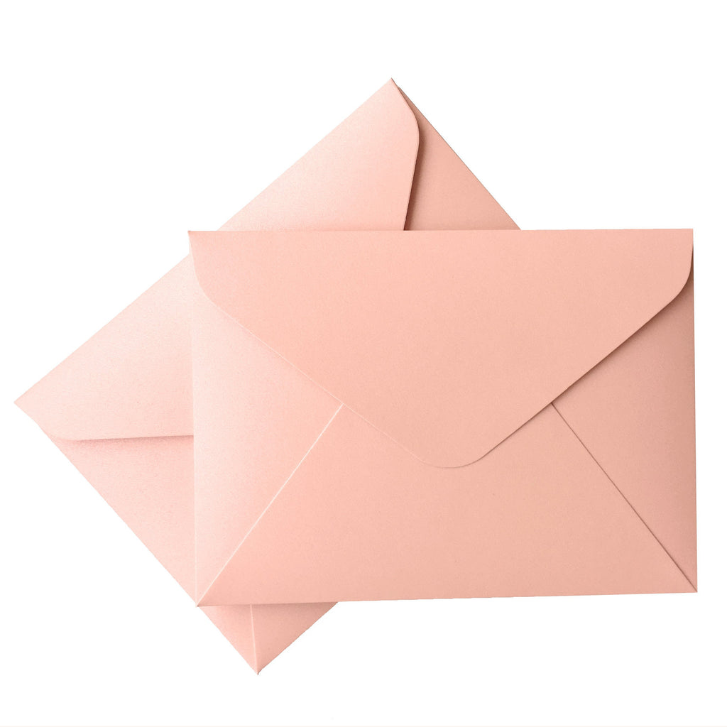Picky Bride Envelope Wedding Romantic Wedding Invitations Envelope Pearl Paper Envelope Wedding Cards Envelope Picky Bride Pink 100 x $1.0ea.