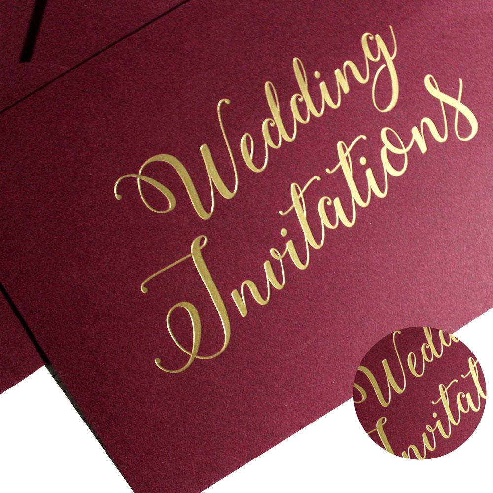Picky Bride Wedding Invitations Envelope Pearl Paper Envelopes Elegant Hot Stamping Invitation Envelope Picky Bride