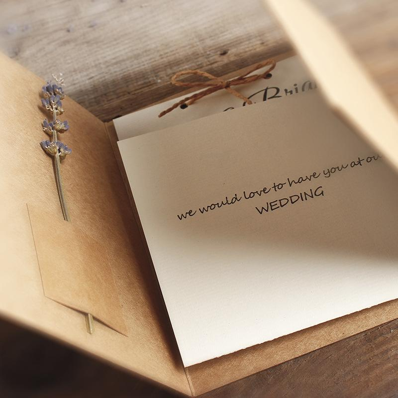 Rustic Photo Wedding Invitations with Customized Invite Wording Printed Picky Bride