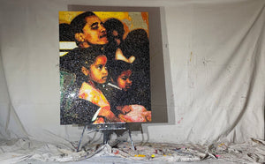 Barack and the girls