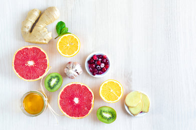 Citrus fruits and foods to support immune health