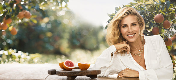 Swisse Global Ambassador Elsa Pataky with Blood Oranges