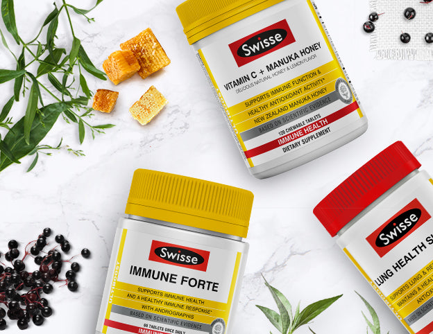 Swisse Wellness Immune Support range