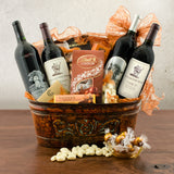 Silver Oak Cellars & Stag's Leap Wine Cellars Cabernet Quartet Wine Gift Basket