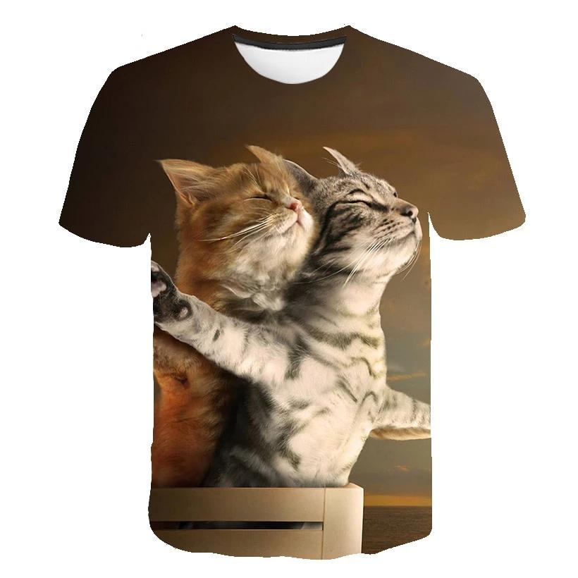 TITANIC CAT LOVE  SHIRT