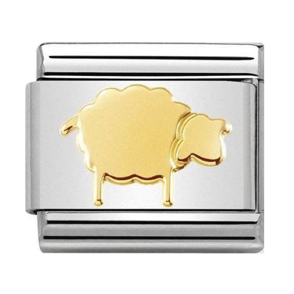 Composable Classic Link - 18ct Gold Sheep - gsmshop.com.au