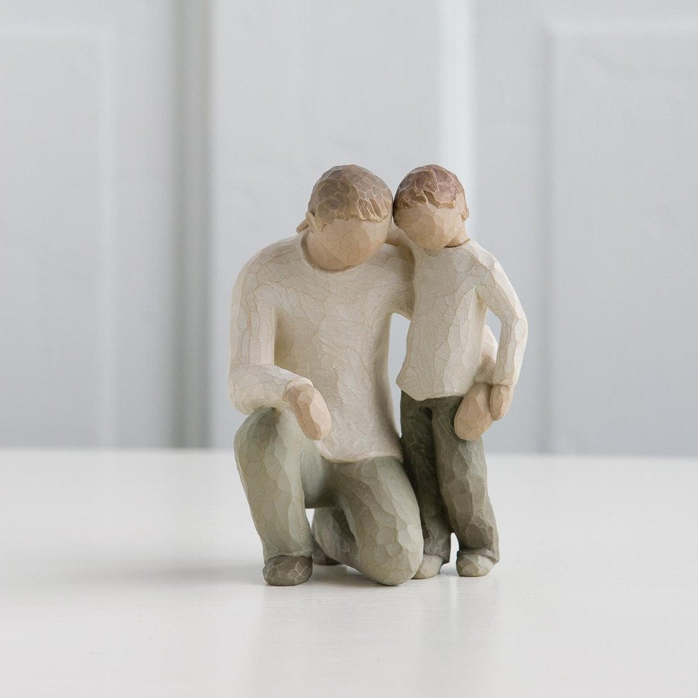 Willow Tree 'Father and Son' Figurine - gsmshop.com.au