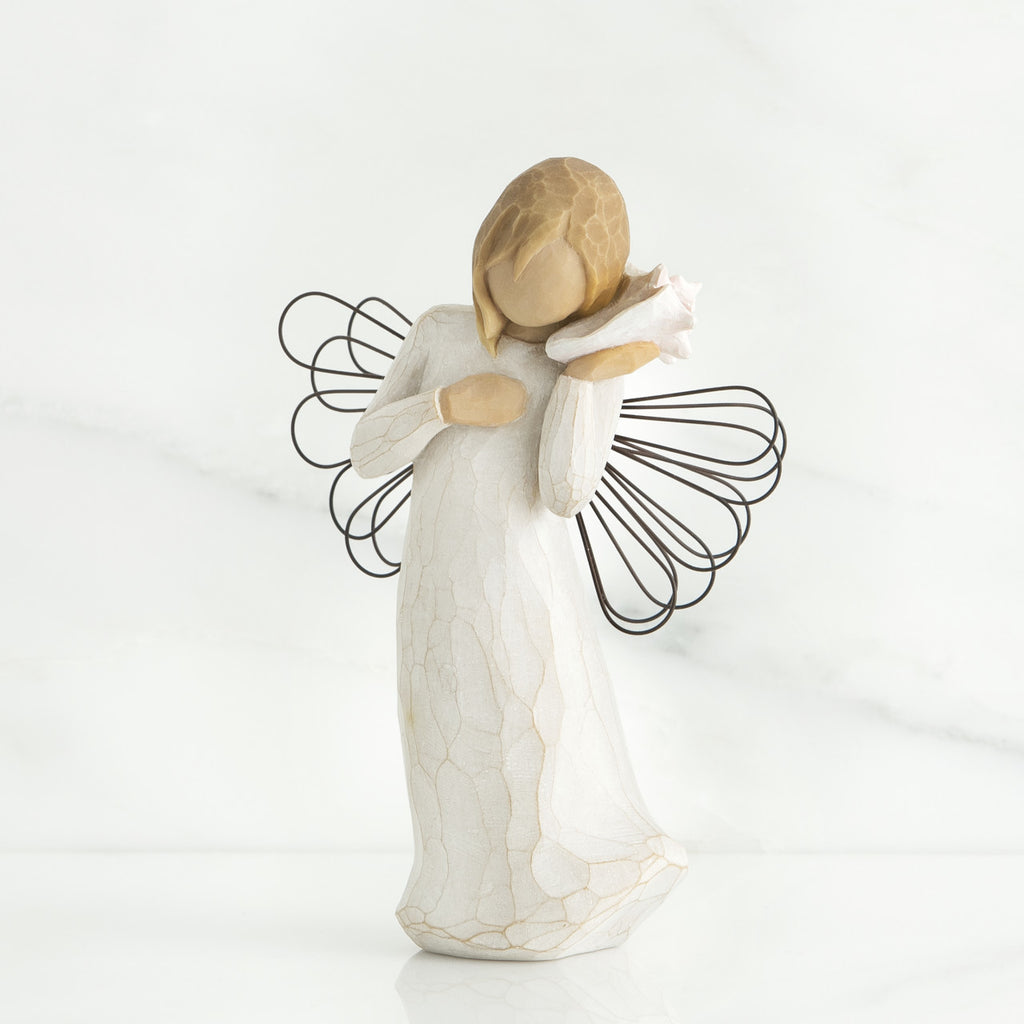 Willow Tree Angel Figurine 'Thinking of You' - gsmshop.com.au