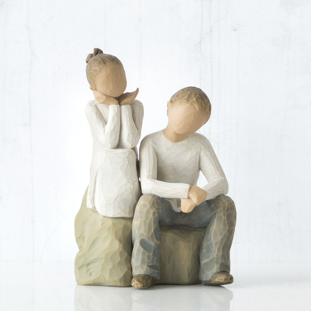 Willow Tree 'Brother and Sister' Figurine - gsmshop.com.au