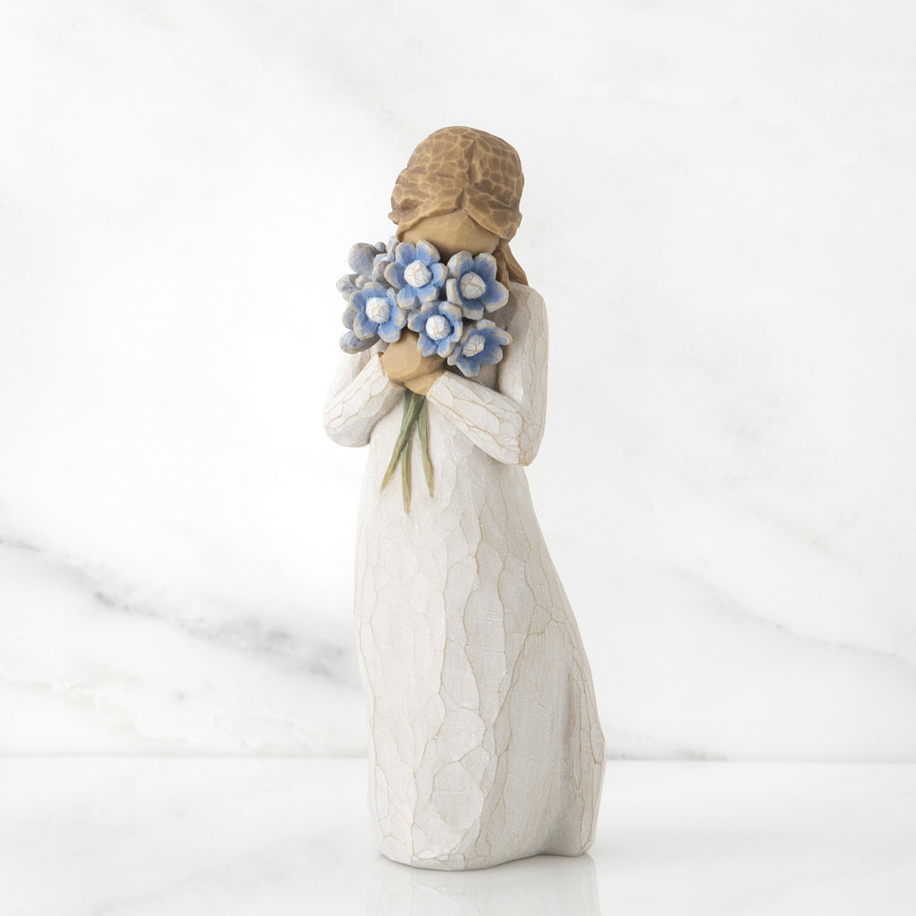 Willow Tree 'Forget-me-not' Figurine - gsmshop.com.au