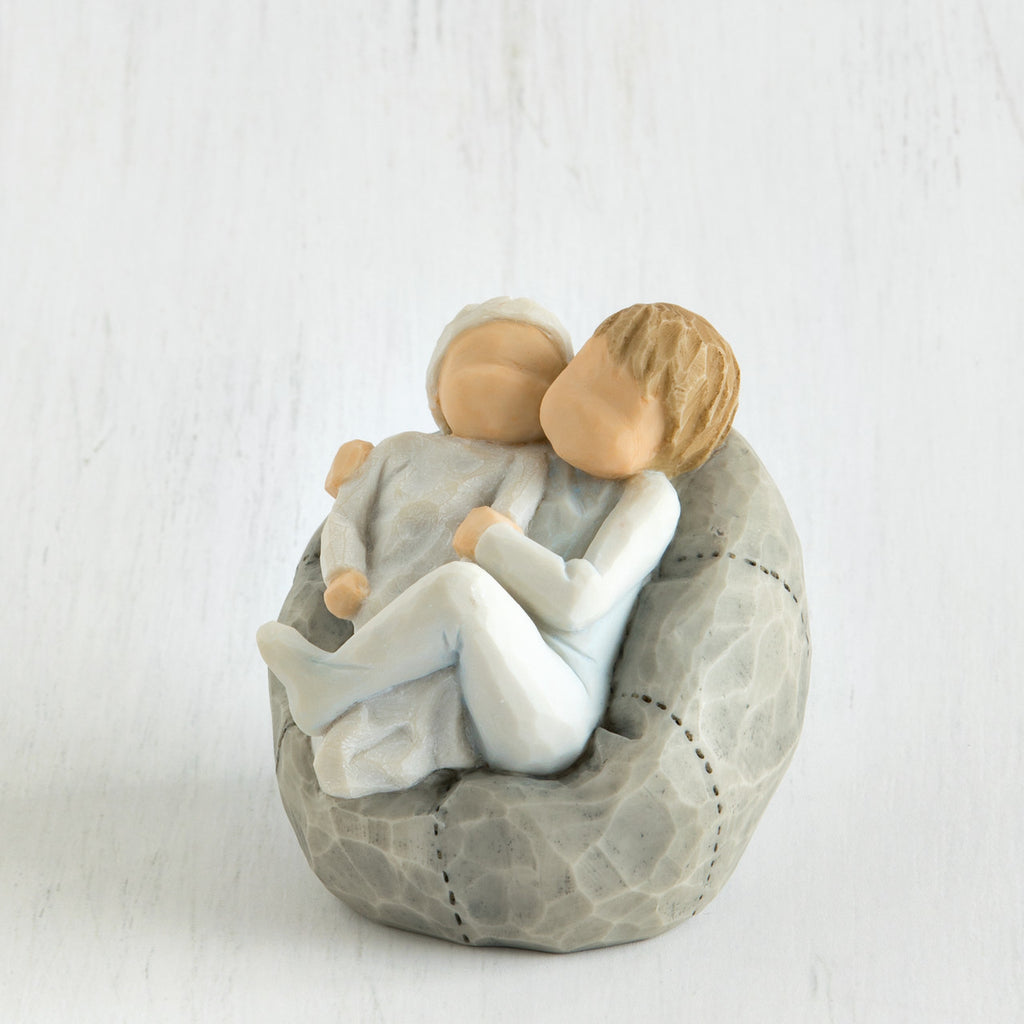 Willow Tree 'My new Baby' (sky) Figurine - gsmshop.com.au