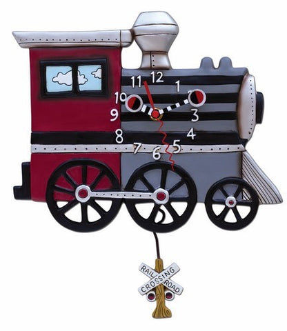 'Choo Choo Train' Allen Designs Pendulum Clock