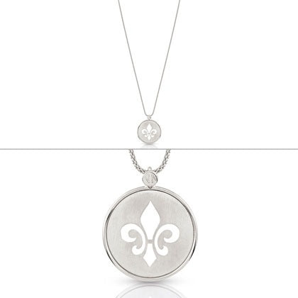Nomination 'Firenze Lis Collection' Sterling Silver Long Necklace